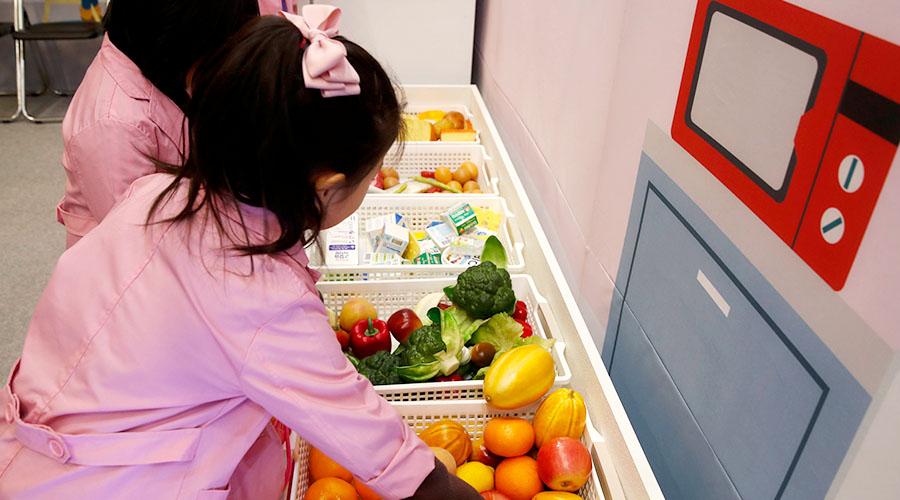 식품안전 교육 체험하는 어린이들 사진 01