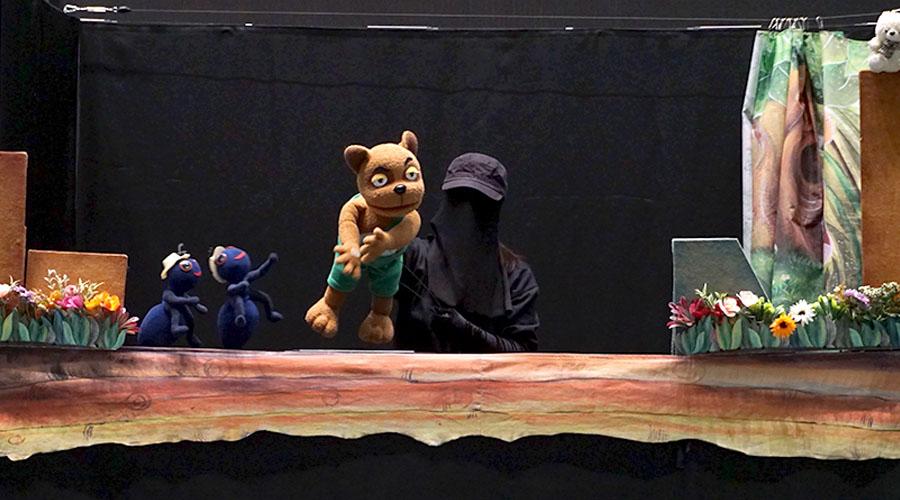 안전 인형극 사진