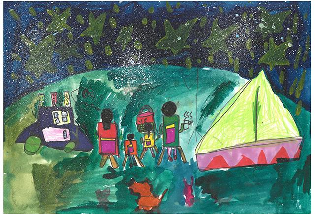 제 31회 그림대회 초등학교 저학년 동상 용곡초등학교 1학년 이*빈