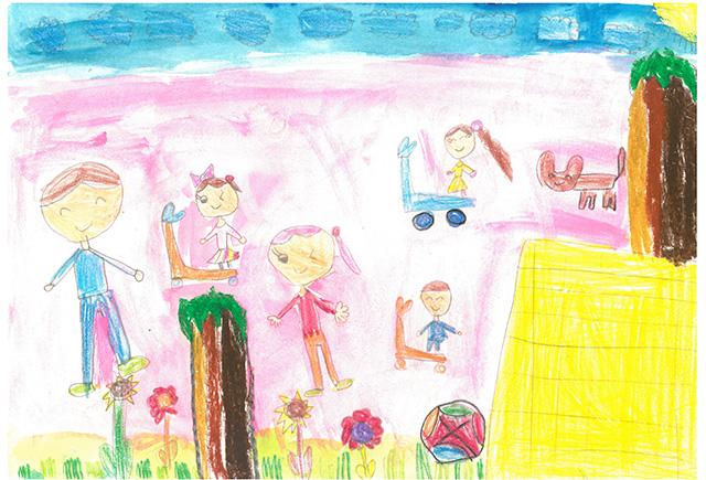 제 31회 그림대회 유치부 은상 신태양 어린이집 조*이