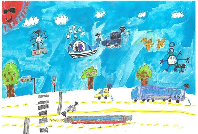제 31회 그림대회 초등학교 저학년 은상 서울삼광초등학교 3학년 진*찬