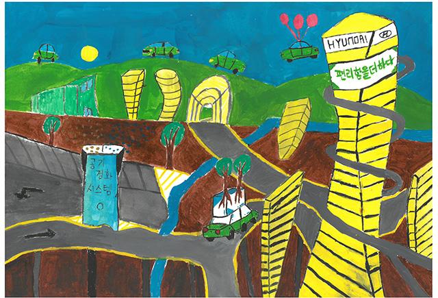 제 31회 그림대회 초등학교 고학년 은상 인천안남초등학교 4학년 김*