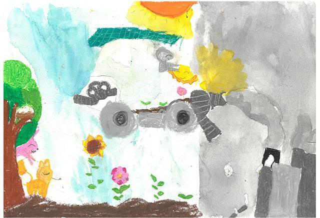 제 31회 그림대회 초등학교 저학년 은상 추계초등학교 3학년 송*빈
