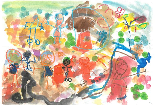 제 31회 그림대회 유치부 동상 현대모비스동백어린이집 이*형