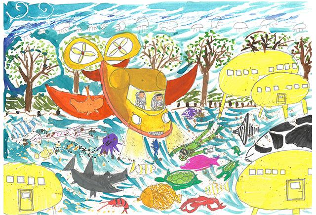 제 31회 그림대회 초등학교 저학년 은상 우면초등학교 3학년 김*완