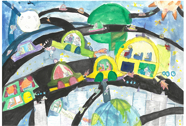 제 31회 그림대회 초등학교 저학년 동상 염창초등학교 3학년 양*민