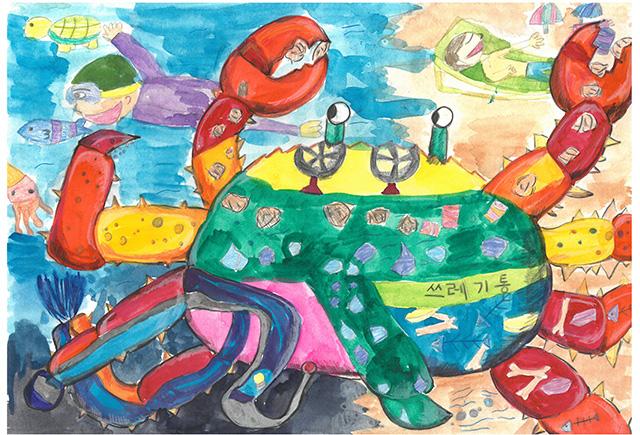 제 31회 그림대회 초등학교 저학년 은상 서울경인초등학교  3학년 이*혜
