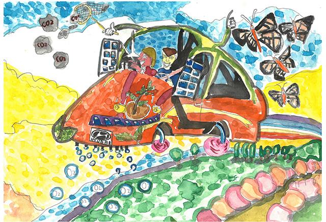 제 31회 그림대회 초등학교 고학년 동상 서울안평초등학교  4학년 양*석