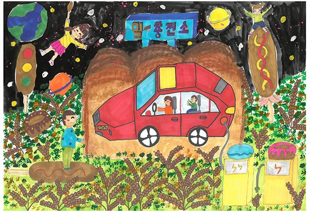 제 31회 그림대회 초등학교 고학년 동상 서울창림초등학교 5학년 박*원