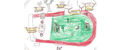 제 31회 그림대회 초등학교 고학년 동상 천천초등학교 5학년 박*우