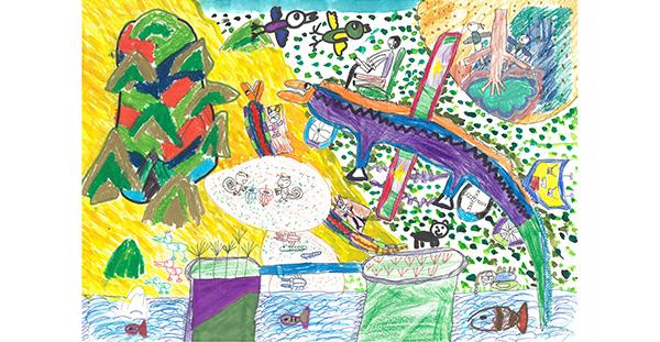 제 31회 그림대회 초등학교 저학년 대상 광운초등학교 2학년 엄*환